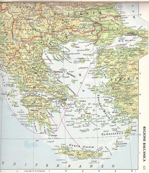 Cartina Della Grecia Antica In Italiano.I Greci